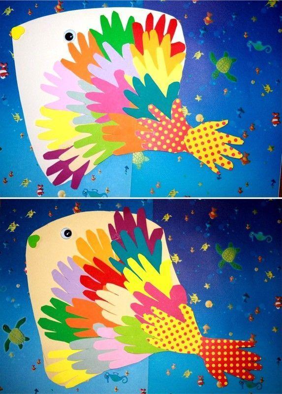Mes poissons poisson origami - Poisson avril maternelle ...
