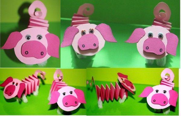 petits cochons cochon bricolage. Black Bedroom Furniture Sets. Home Design Ideas