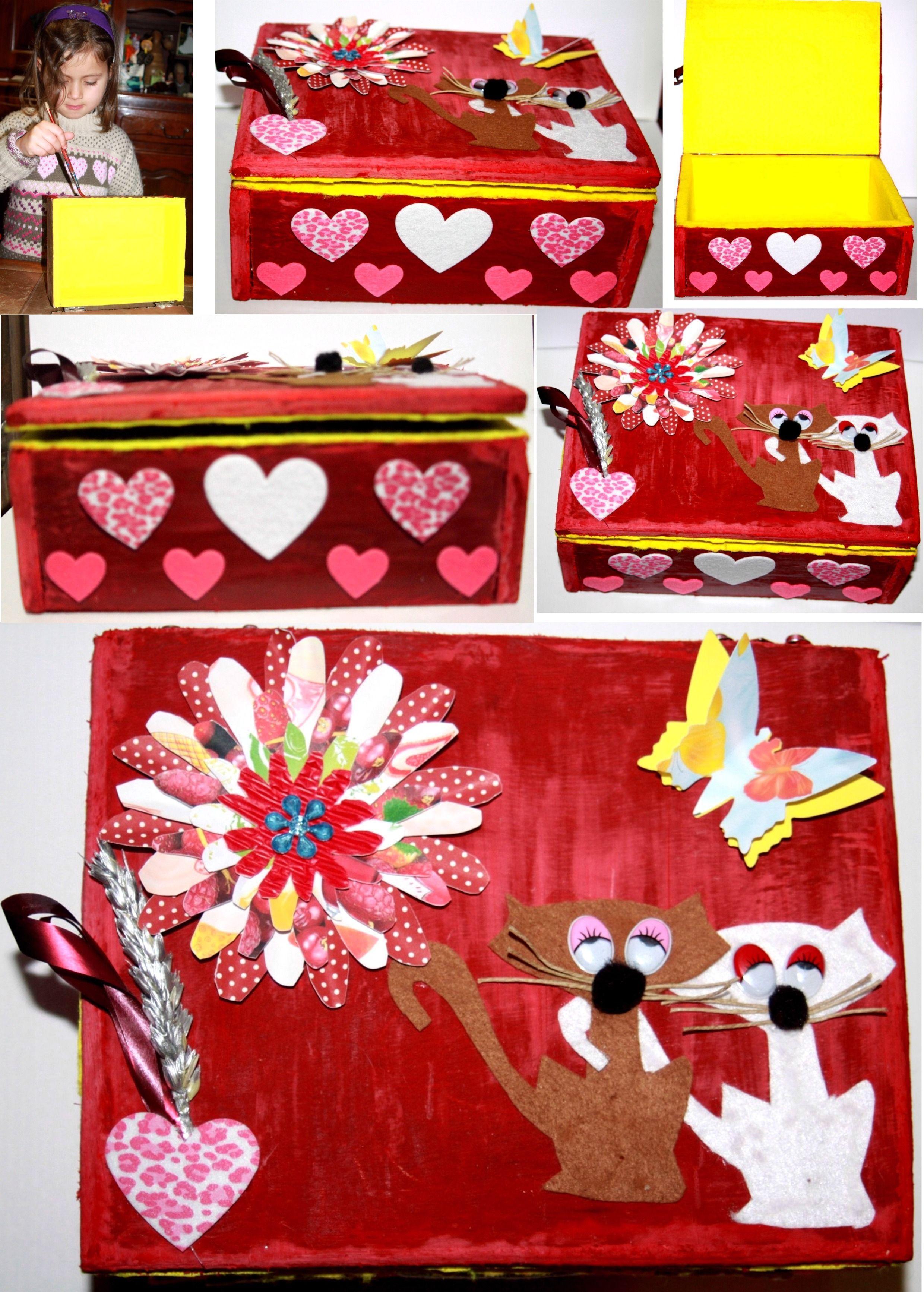 Creation bricolage fete des meres page 2 - Boite a bijoux a decorer ...